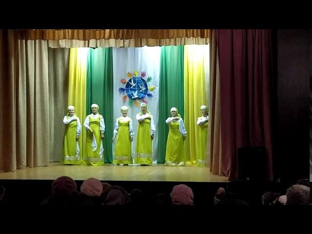 Танцевальный коллектив «Сударушка» - Хоровод с платочками
