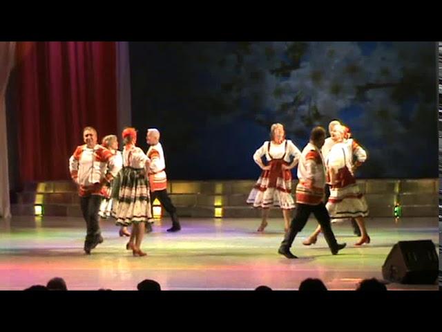 Танцевальная группа хора ветеранов - Над рекой широкой
