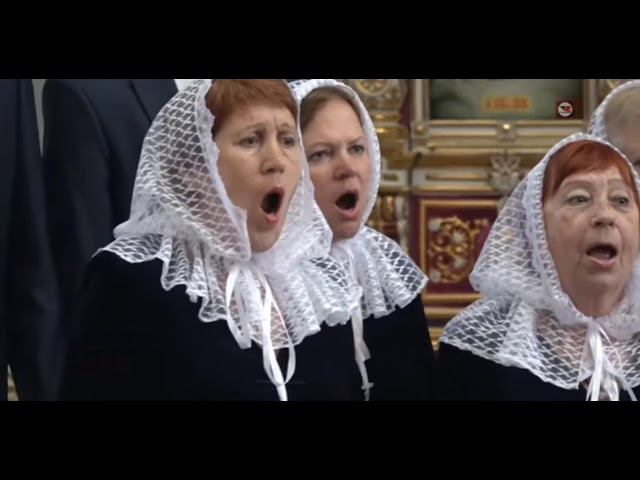 Академический хор - Люблю берёзку русскую