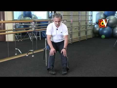 Комплекс упражнений при артрозе коленных суставов