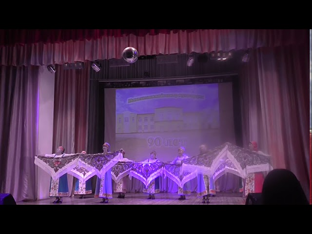 Танцевальное объединение старшего поколения «Грация» - Танец с платками