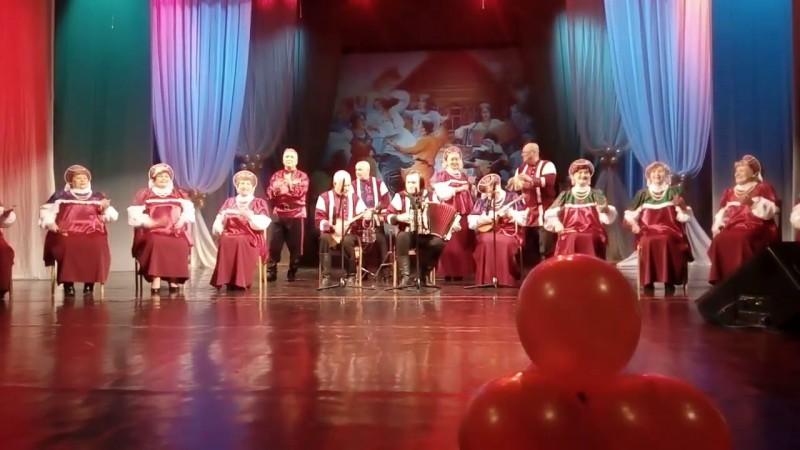 Инструментальная группа хора ветеранов ДК им. И. В. Окунева - Ах, вы, сени