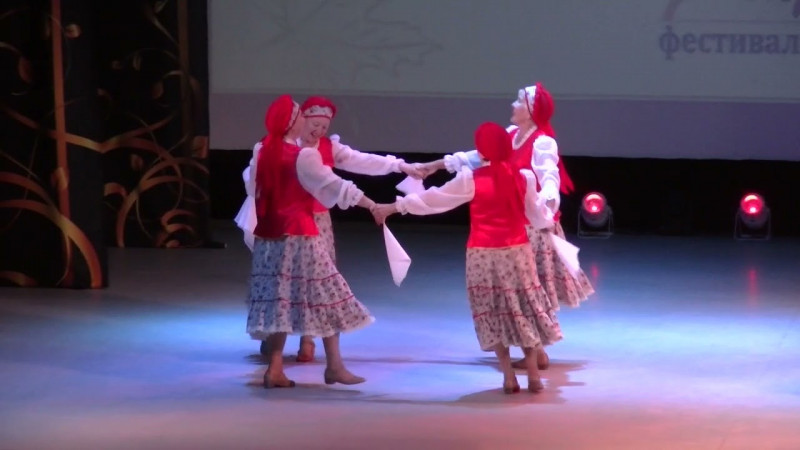 Танцевальный коллектив «Хризантема» - Как у нашей Кати