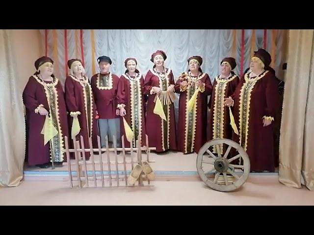 """Вокальный ансамбль """"Шиловляночка"""" - Эх, разыграйся, гармонь моя"""