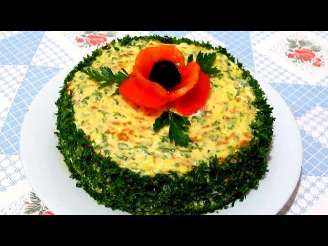 Вкусный торт из кабачков