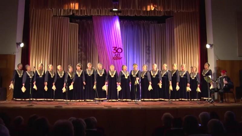 Народный хор - Журавли