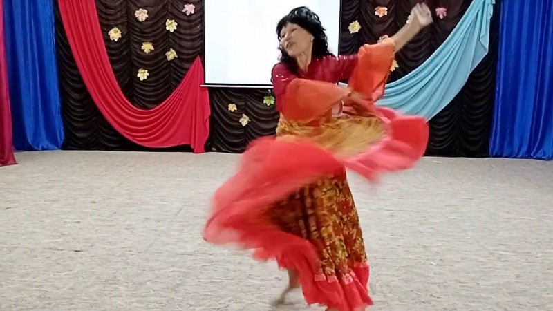 Тамара Ильина - Цыганский танец